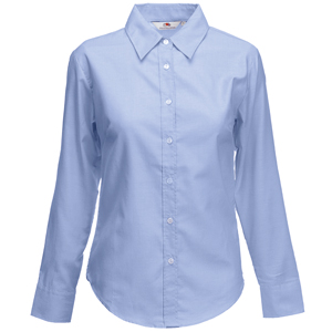 "Рубашка женская  ""Lady-Fit Long Sleeve Oxford Shirt"""