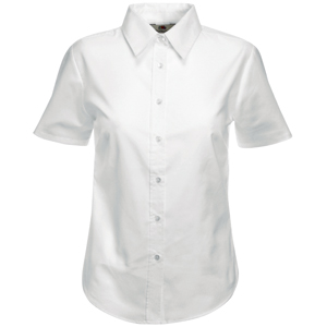 "Рубашка женская  ""Lady-Fit Short Sleeve Oxford Shirt"""